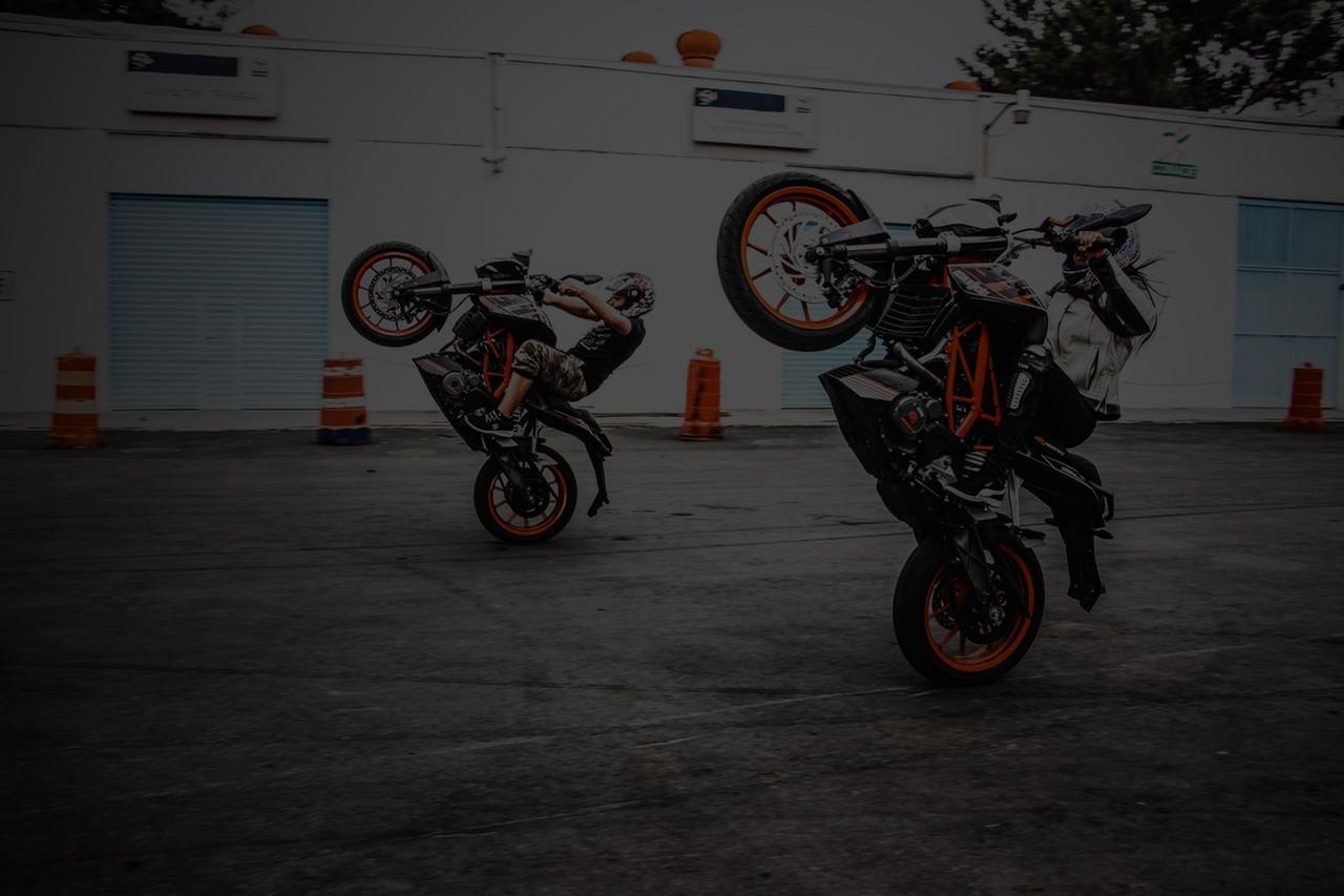 KTM-Wheelie